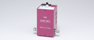 CUBEMFC1005 Series integrated-type mass flow controllers with a control power source