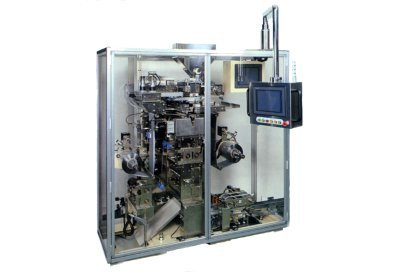Four side seal sachet packaging machine