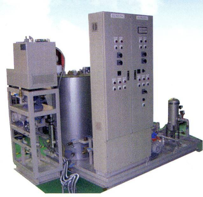Waste oil purification/fueling device