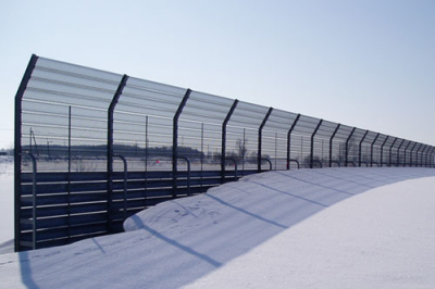Snow protection facility study and design