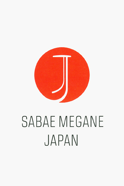 SABAE MEGANE JAPAN brand mark, using eyeglasses with