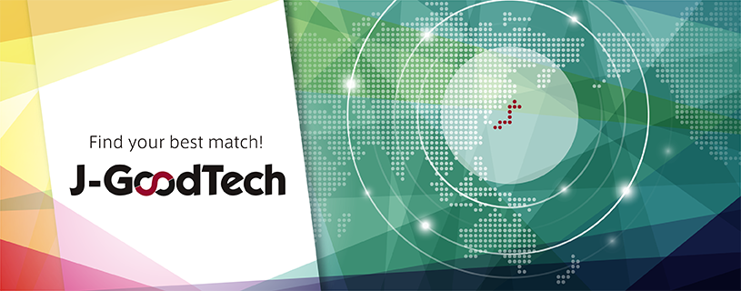 J-GoodTech,an online matching platform for new opportunities and exchanging information