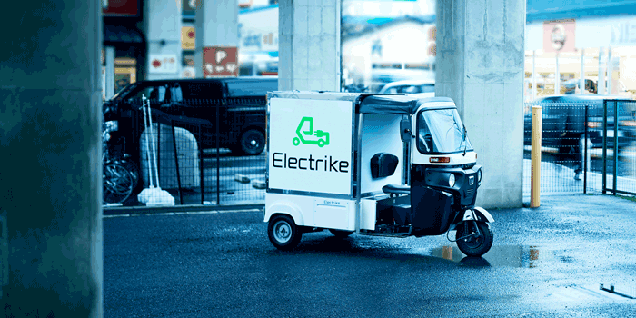 Photo of ElecTrike on a road